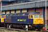57006 at Gloucester on 17th May 2008. Both class 57s were acquired from Freightliner in January 2008.
