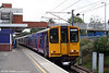 FCC 313042 forming the 1252 Moorgate to Letchworth on 11th September 2008.