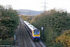 175104 passes Felin Fran with the diverted 1410 Fishguard Harbour to Cardiff Central on 26th October 2008.