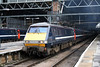 91120 'Royal Armouries' prepares to leave London King's Cross to Leeds on 11th September 2008.