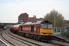 60065 'Spirit of Jaguar' passes through Newport with 6B47, 1742 Westerleigh to Robeston on 24th April 2009.