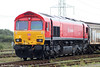 Another shot of 66152 at Margam, Knuckle Yard on 31st October 2009.