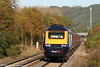FGW's 0829 Swansea to London Paddington, led by 43131, approaches Pontyclun on 17th October 2009.