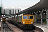 66617 at Derby with 6M66, 0703 Barrow Hill to Rugeley Power Station on 7th August 2009.