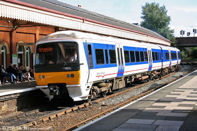 Chiltern Railways 165019 at Stratford-upon-Avon on 30th July 2009.