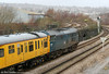 31106 is about to pass Landore with with test train 2Z08, 0458 Whitland to Bristol Temple Meads on 9th December 2009.