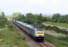 43143 'Stroud 700' leads the 1002 Pembroke Dock to London Paddington through Loughor on 13th June 2009.