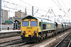 66528 at Doncaster with 6H71, 1436 Doncaster Decoy to Eggborough on 6th August 2009.