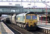 66508 at Stafford with 6M04, 1050 Portbury to Rugeley Power Station on 5th August 2009.