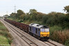 Mainline blue 60011 has made a return to South Wales; the loco is seen descending Stormy Bank with 6V92, 1018 Corby to Margam on 25th September 2009.