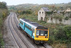 142072 passes Llangewydd forming a Swansea to Cardiff stopping service and is away from its usual haunts around Cardiff on 31st October 2009.