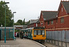 142080 has just arrived at Penarth forming the 1129 service from Rhymney on 5th September 2009.