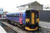 FGW's 153305 parked up in the bay at Gloucester on 11th April 2009.