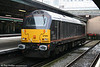 67005 'Queen's Messenger' on the blocks at Platform 2 in Swansea on 25th October 2009.