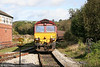 66150 pulls off the Garw Loop at Tondu with 6M30, 1100 Margam to Dee Marsh on 4th October 2009.