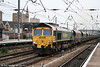 66549 is seen at Doncaster with 6Y17, 1345 Immingham to Ferrybridge on 6th August 2009.