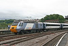 NXEC 43239 brings up the rear of Cross Country's 1V45, 0700 Manchester Piccadilly to Newquay at Bristol Temple Meads on 15th August 2009.