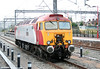WCML 'Thunderbird' 57309 'Brains' awaits the call at Rugby on 5th August 2009.