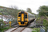 The 1121 Cardiff Central to Maesteg in the form of 158831 approaches Garth (Mid Glamorgan) on 22nd April 2009.