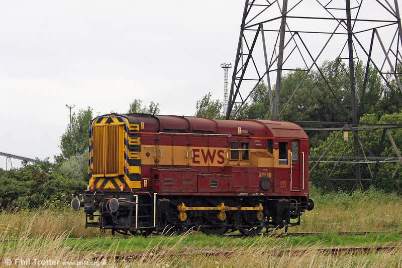 08630 'Bob Brown' goes about its shunting duties at Margam Knuckle Yard on 28th July 2009.