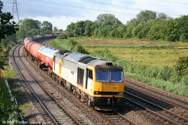 60013 'Robert Boyle' at Duffryn with 6B13, 0510 Robeston to Westerleigh on 27th July 2009.