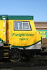 Cabside of 70002 showing the revised Freightliner logo. 15th November 2009.