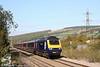 43037 heads the 1029 Swansea to London Paddington through Pontyclun on 17th October 2009.