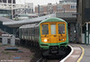 The final 319/2, 319220 at East Croydon forming the 1204 Brighton to Bedford on 7th April 2010.