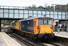 73206 'Lisa' again, this time at Guildford with test train 1Q02, 0542 Selhurst T&RSMD to Hither Green on 7th April 2010