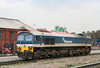 59102 'Village of Chantry' at Acton Yard, preparing to take over 6L16, 1441 Acton Yard to Bow Goods on 19th April 2010.