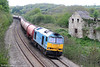 Yet another shot of 60074 'Teenage Spirit'. Seen here on its current regular working, 6B13 0505 Robeston to Westerleigh, the loco passes Llangewydd on 8th May 2010.