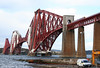 Dating from 1890, the Forth Railway Bridge is itself an icon of Britain's railways. The 1435 Edinburgh to Perth heads away from South Queensferry towards the Kingdom of Fife on 19th October 2010.