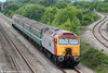 57305 'John Tracy' heads 2C79, 1400 Cardiff Central to Taunton through Llandevenny on 31st May 2010.