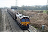 66103 descends Stormy Bank with 6V78, 0325 Dollands Moor Sidings to Margam on 27th March 2010.