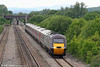 43207 again, now returning through Llandevenny with 1S51, 1223 Exeter St. Davids to Glasgow Central on 31st May 2010.