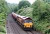 59202 'Vale of White Horse' passes Morriston with 6B13, 0505 Robeston to Westerleigh on 8th July 2010.