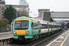 Southern maintains a fleet of six four car class 171/8 Turbostar dmus for use on the Uckfield branch. 171802 leaves East Croydon with the 1234 Uckfield to London Bridge on 7th April 2010.