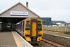 158711 waits to leave the terminus at Wick, forming the 1600 service to Inverness on 14th October 2010.