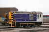 Scotrail liveried 08308, seen at Inverness T&RSMD on 12th October 2010.
