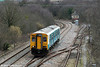 150258 passes Llandarcy with the 1055 Cardiff Central to Fishguard Harbour on 6th March 2010.
