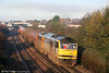 60063 'James Murray' catches the autumn sunshine at Pyle with 6B13, 0505 Robeston to Westerleigh on 6th November 2010.