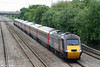 43301 returns from Exeter with 1S51, 1223 Exeter St. Davids to Glasgow Central on 31st May 2010.