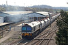 59102 'Village of Chantry' pulls away from Westbury with 6B12, 1409 Merehead to Wootton Bassett on 8th April 2010.