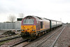 67017 'Arrow' at the rear of 2C67, 0800 Cardiff Central to Paignton as it leaves Severn Tunnel Junction on 2nd April 2010.