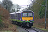 LM 321414 makes its way along the Watford Junction to St. Albans Abbey branch, forming the 1507 from Watford Junction on 20th March 2010. In October 2009 a plan was published for control of the 'Abbey Line' to be transferred to Hertfordshire County Council and converted to light rail operation.