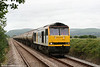 Having taken over the train at Margam, 60013 'Robert Boyle' is seen at Llangennech with 6B33, 1335 Theale to Robeston on 9th July 2010.