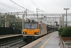 92026 'Britten' passes Watford Junction with 6B41, 1119 Wembley to Daventry on 20th March 2010.