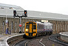 158713 arrives at Inverness forming the 0823 service from Aberdeen on 15th October 2010.