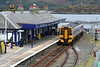 158711 waits patiently at Kyle of Lochalsh on 13th October 2010. The once busy ferry terminal is now largely silent, the link with the Isle of Skye now being made via the controversial Skye Road Bridge which opened in 1995.