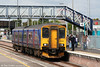 150265 calls at Severn Tunnel Junction forming the 1000 Cardiff Central to Taunton on 1st May 2010.
